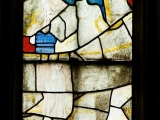 East window of Savile Chapel, nII, Panel 2c, c1493,Church of St. Michael and All Angels, Thornhill, Wakefield.Commissioned by Anna Eavis with Jonathan and Ruth Cooke Ltd (Stained Glass Conservation).