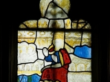 East window of Savile Chapel, nII, Panel 4c, c1493,Church of St. Michael and All Angels, Thornhill, Wakefield.Commissioned by Anna Eavis with Jonathan and Ruth Cooke Ltd (Stained Glass Conservation).