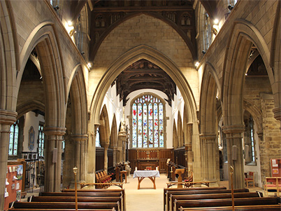 Church Interior looking East